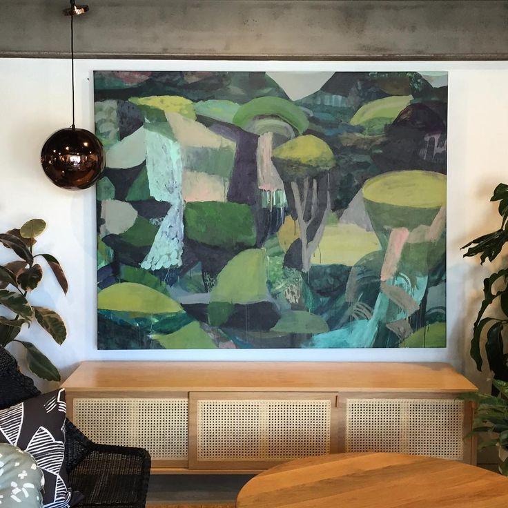 New @kiraandkira acrylic on canvas 1800x1400 'Tallebudgera'