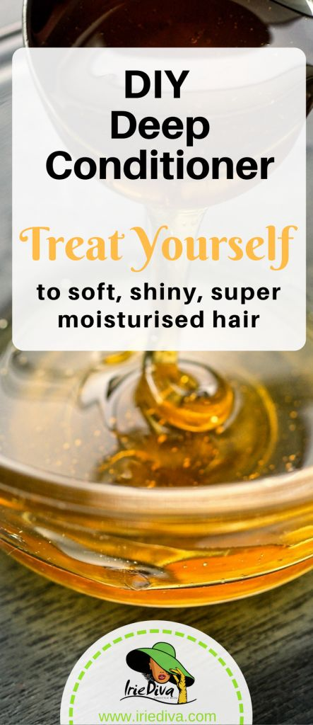 A deep conditioner with aloe vera, honey, avocado, yoghurt and shea butter for soft, shiny, super moisturized hair.