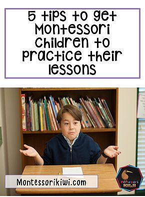 How do I get Montessori children to practise their work? 5 tips to help Elementary Montessori children gain independence