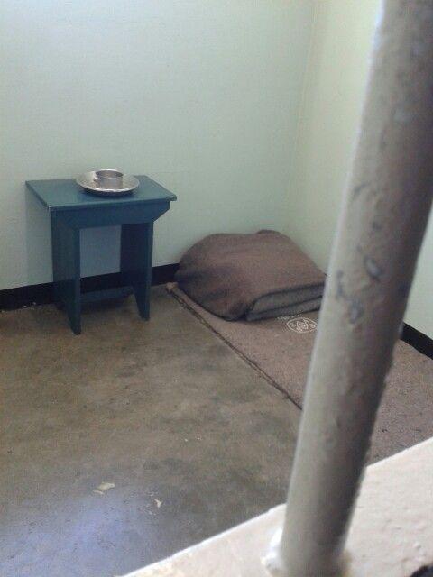 Robin Island 5 (Nelson Mandela prison cell)