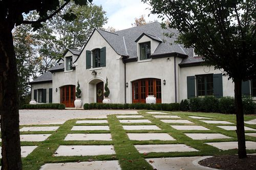 Oct 28 2007 this three story stucco home in roswell was - French country exterior house colors ...