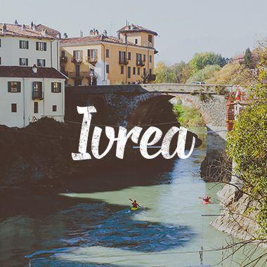 """Ivrea no Piemonte é conhecida pela """"Batalha da Laranja"""" que acontece durante o carnaval. Confira nossas fotos dessa cidade pouco conhecida na Itália."""