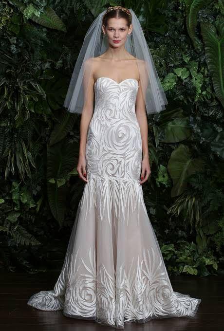 Naeem Khan Wedding Dresses - 2014 - Bridal Runway Shows : Brides.com