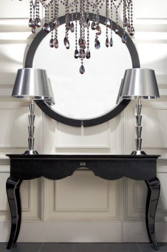 A&X Baron - Round Mirror