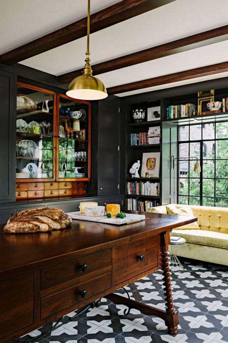 40 elegant black and white floor tile for your kitchen design kitchen design white kitchen on kitchen remodel floor id=65380