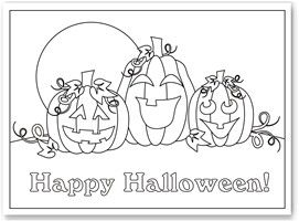Free Halloween coloring pages - @Gina Gab Solórzano Millanes & @Renay Gallimore Clark I printed some, so I will make you a copy. :)