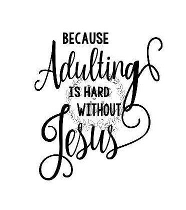 Living period is hard without Jesus