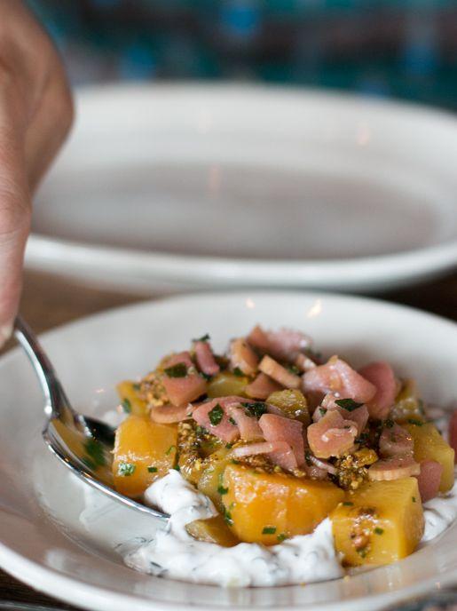 Zahav restaurant pickled turnips