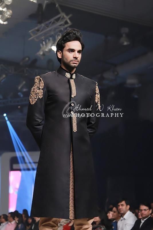 Asifa  Nabeel Bridal Wear Collection at BCW 2013, Pakistani couture