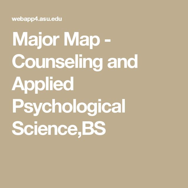 major map counseling and applied psychological science bs asu