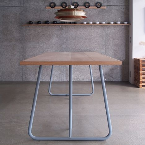 Uma by Kazunaga Sakashita updates archetypal trestle table http://sulia.com/channel/furniture/f/37daa4596e291a21714034834e152ed5/?source=pin&action=share&btn=small&form_factor=desktop&pinner=125864303