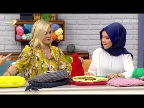 Derya Baykal'la Gülümse: Bahar Clutch Çanta Yapımı - YouTube