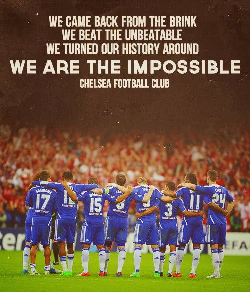 Chelsea FC Champions League Winners 2011-12