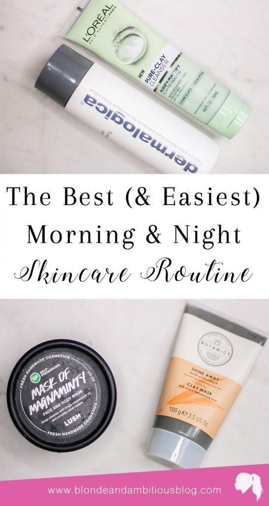 Morning & Bedtime Skincare Routine | Makeup <3 | Skin care routine steps, Everyday beauty routine, Beauty routine checklist