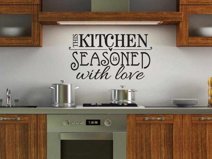 Best 25 Kitchen Vinyl Sayings Ideas Only On Pinterest