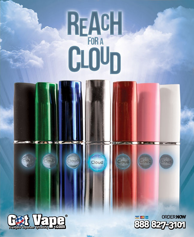 Here is a Design for the new Cloud Essential Oil Portable Vaporizer.