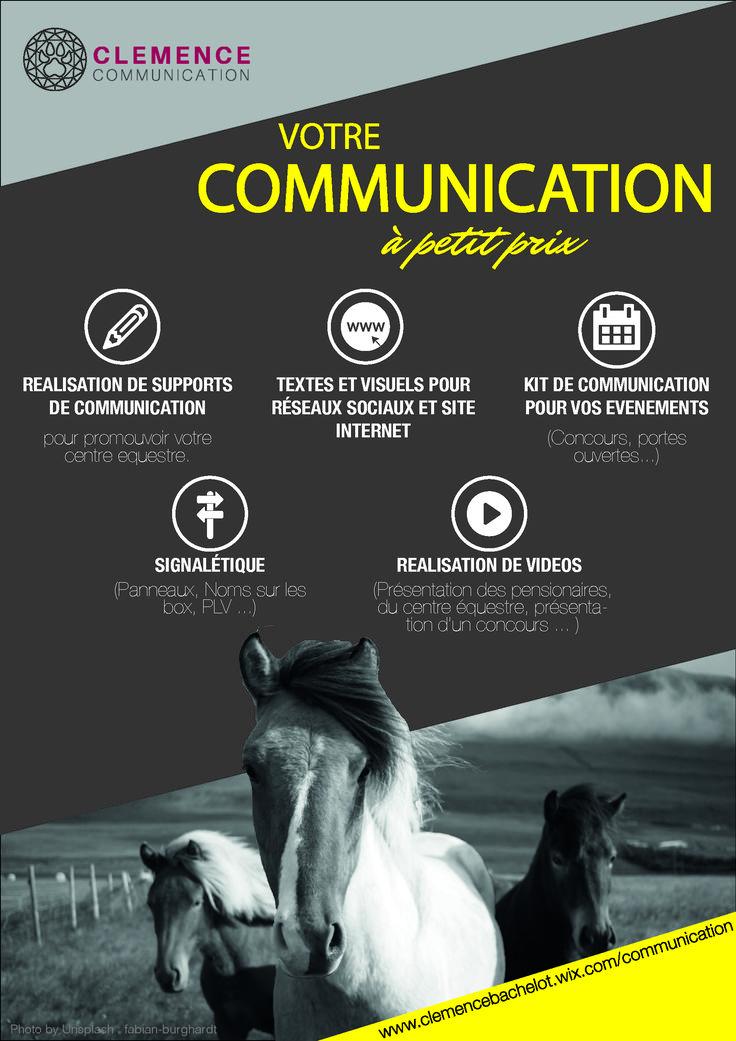 Votre poney club ou centre équestre souhaite des supports de communication à petits prix ? C'est ici !