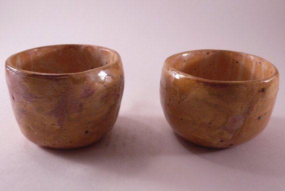 Handmade little bowls for sake