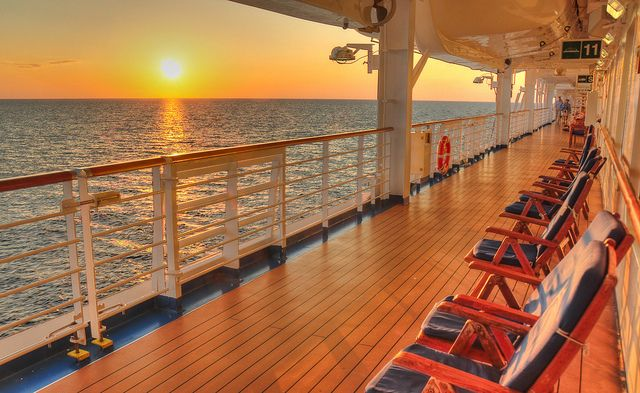 Always a highlight of any cruise...sunset on a beautiful ship on a glorious evening ...Bahama Sunset on the Ruby Princess by FireballPhotography, via Flickr