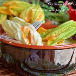 Pastella per fiori di zucca o zucchina a base di uova   acqua e farina  Ricetta http://blog.giallozafferano.it/dolcipocodolci/pastella-uovo-per-fiori-zucca/