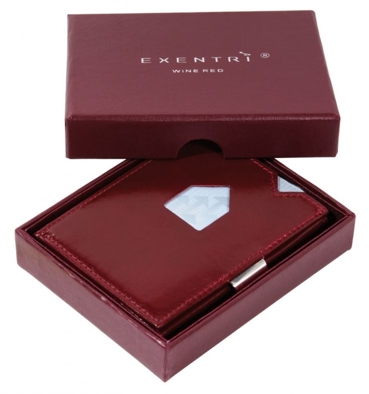 Exentri portemonnee - Wijn Rood | Exentri portemonnee | SKOEQ - The men`s shop