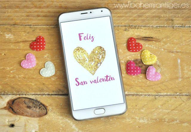 4 tarjetas con mucho amor para San Valentín