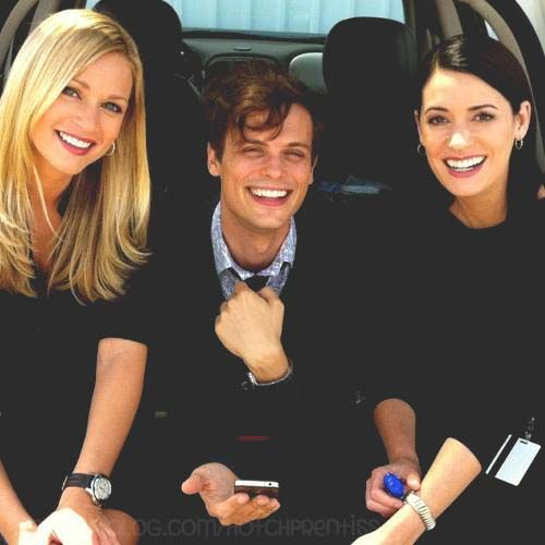 A. J. Cook, Matthew Gray Gubler, Paget Brewster
