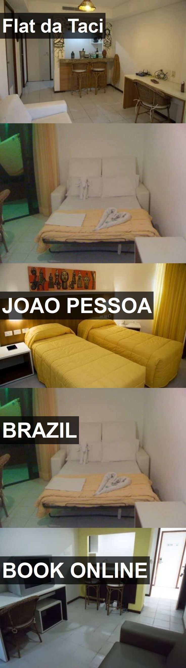 Hotel Flat da Taci in Joao Pessoa, Brazil. For more information, photos, reviews and best prices please follow the link. #Brazil #JoaoPessoa #travel #vacation #hotel