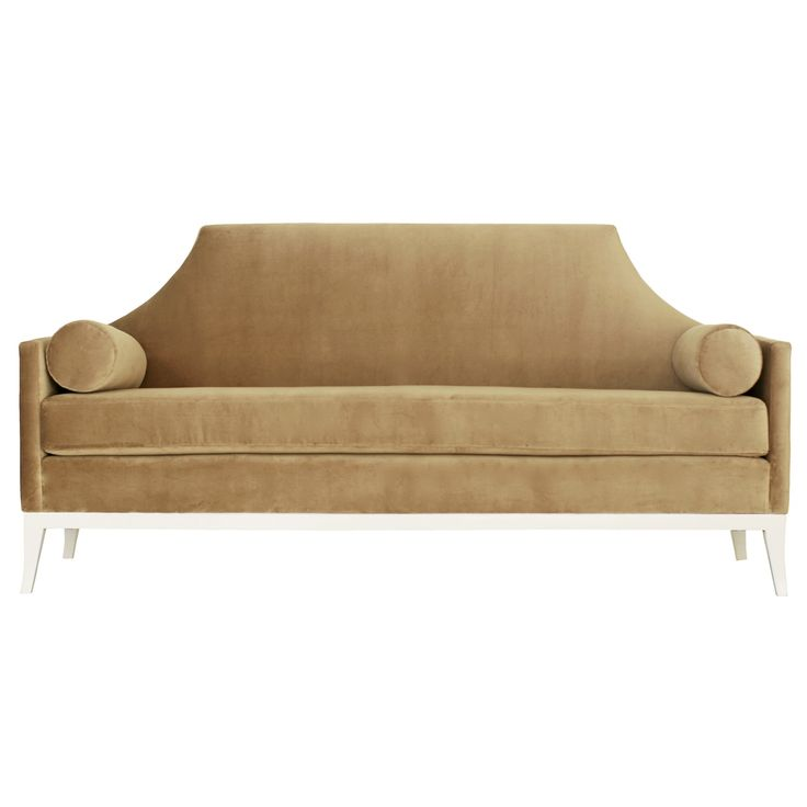 Sylvia Sofa   Contemporary, Traditional, Transitional, Upholstery Fabric,  Wood, Sofa By