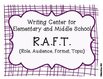 Using the RAFT Writing Strategy