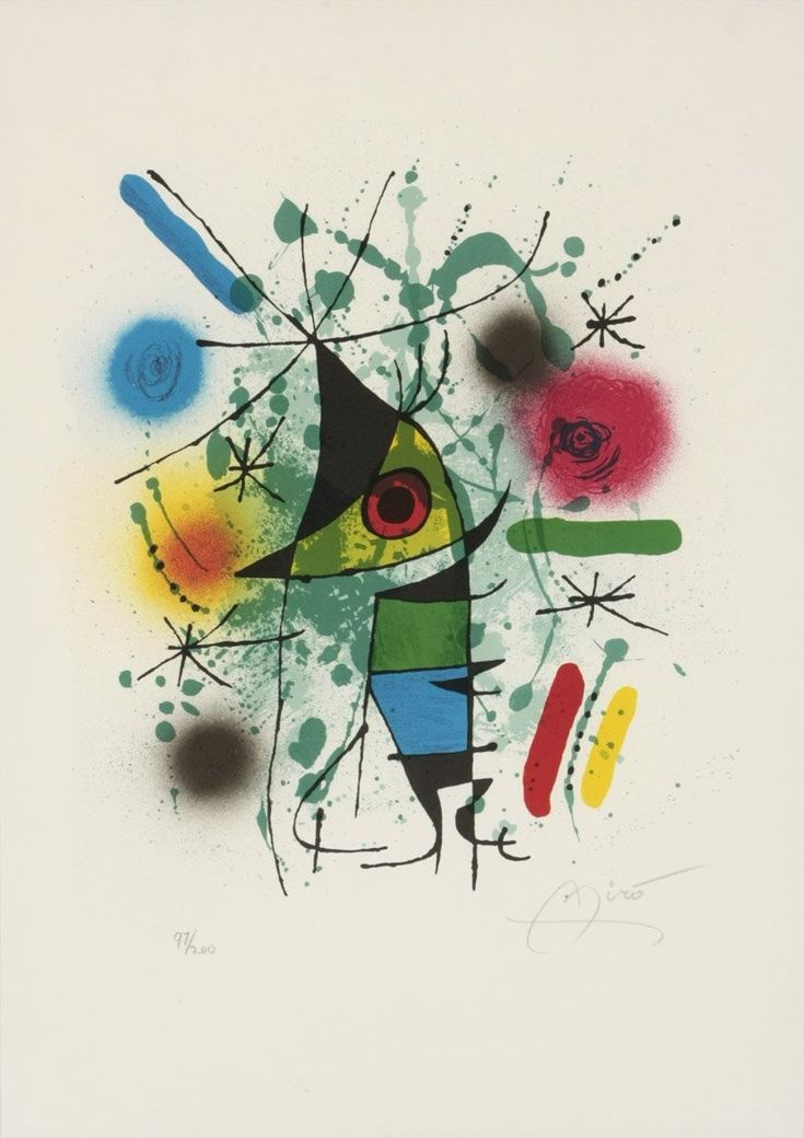 """The Singing FIsh"".  Joan Miró. 1921"