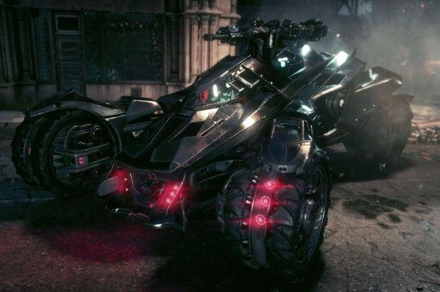 Latest Batmobile shown ahead of 2015 Batman: Arkham Knight launch