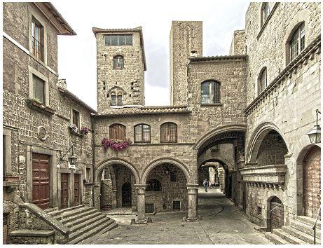 Viterbo Gita romantica in Italia http://tormenti.altervista.org/weekend-romantici-in-italia/