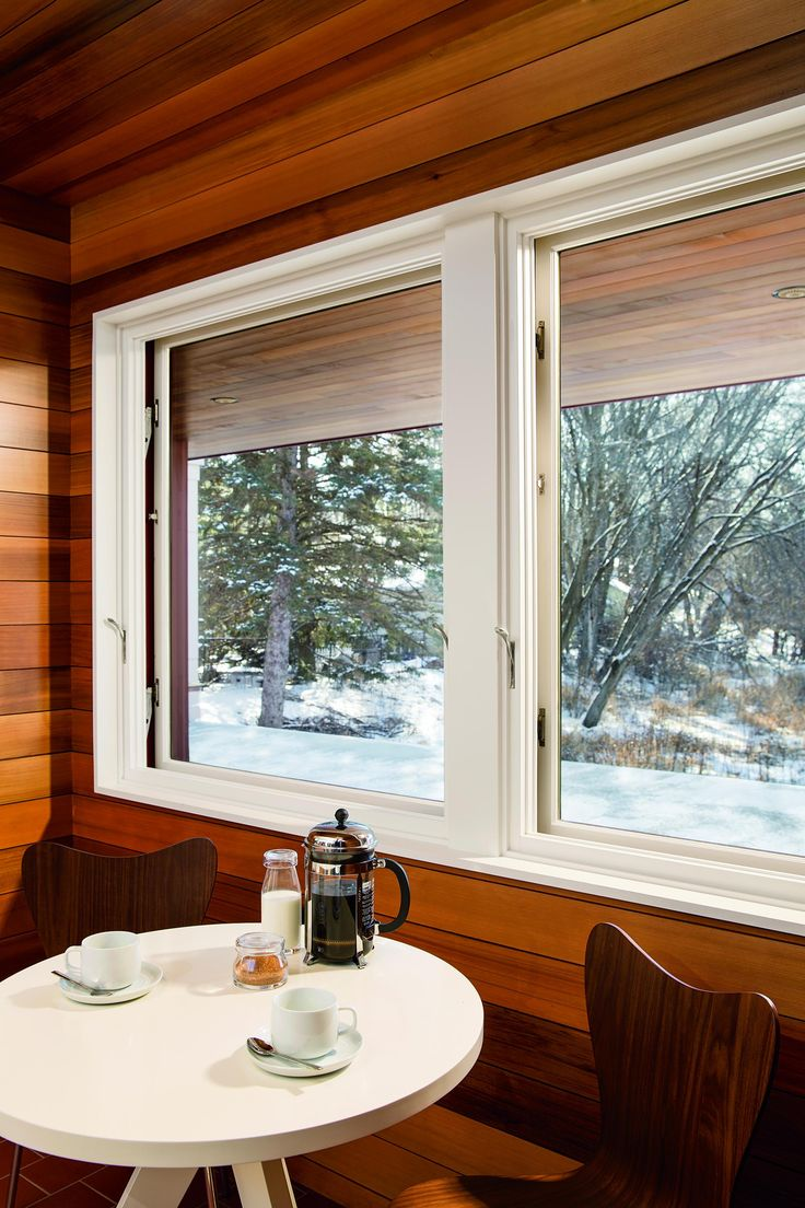 French casement windows photos houzz - Interior Shot Of Wooden Casement Window With White Finish By Marvin