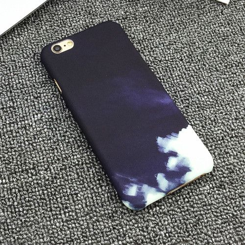 Artistic Color Drawing Case For iPhone 6 Case For Apple iphone 6S Plus 6Plus 5 5S Cute Sweet Candy Color Phone Cases Back Cover