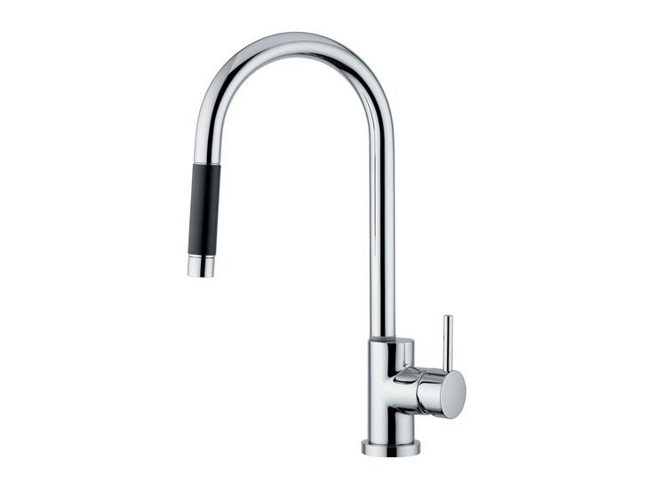 Teknobili Oz T7 pull out sink mixer 137 from Reece