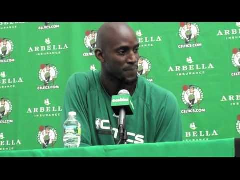 Video: Kevin Garnett says he doesn't have Ray Allen's phone number any more