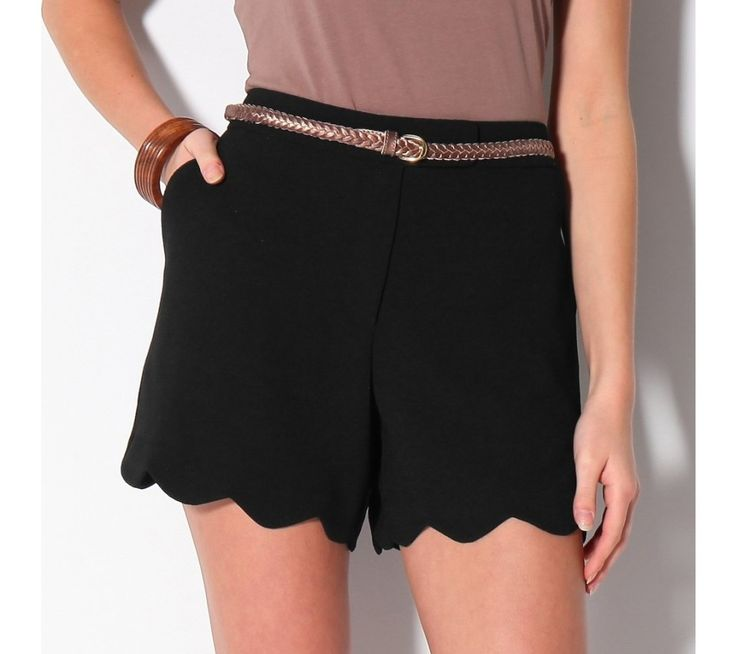 Šortky s vlnkovaným zakončením | blancheporte.sk #blancheporte #blancheporteSK #blancheporte_sk #sortky #shorts
