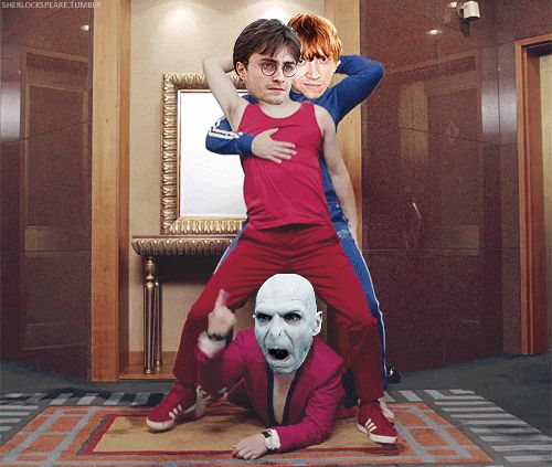 The Harry and Ron Bridge | 22 Lord Voldemort Dance Moves You Need In Your Life