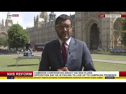 YouTube - Published on Jul 21, 2015  Magicians Young & Strange photobomb the background of a Live Sky News broadcast with journalist Ashish Joshi in Westminster.