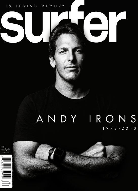 January 2011. #SURFERPhotos