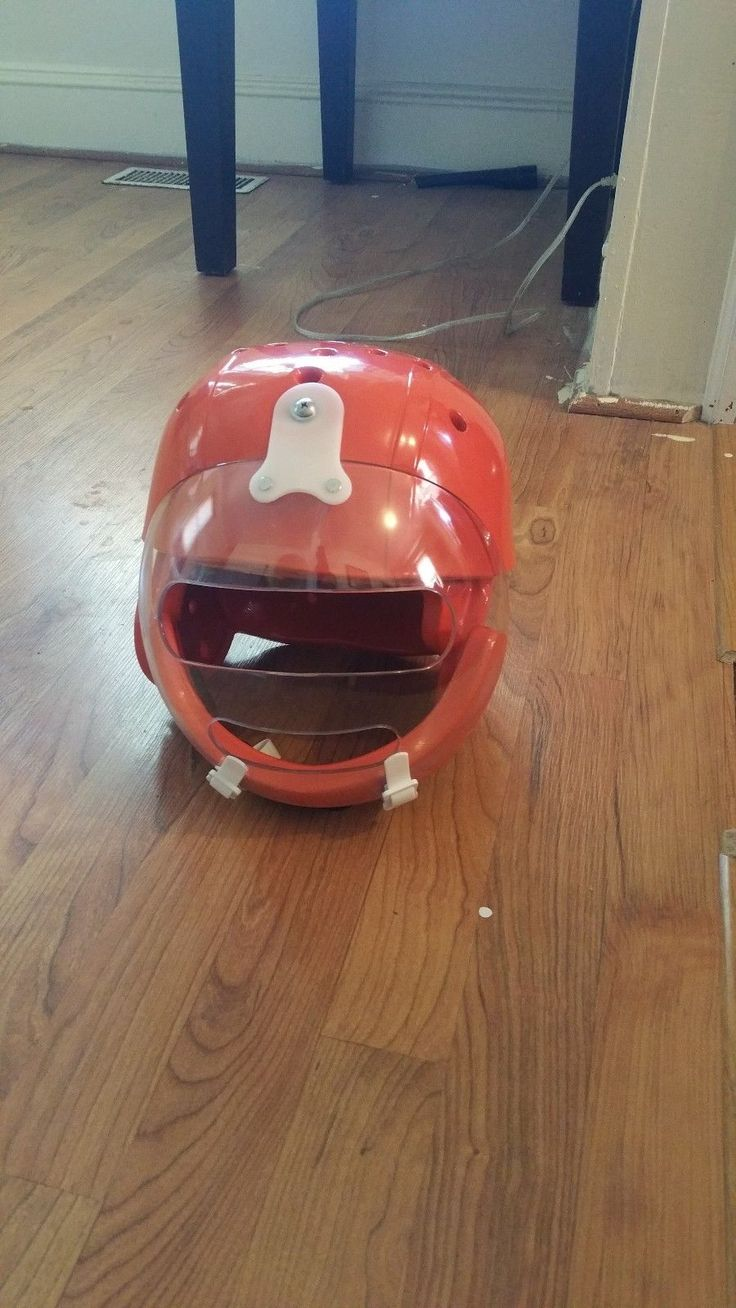 Danmar Hard Shell Helmet w / Face Guard | eBay