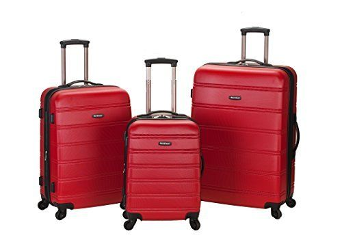 New Trending Luggage: Rockland Luggage Melbourne 3 Piece Abs Luggage Set, Red, Medium. Rockland Luggage Melbourne 3 Piece Abs Luggage Set, Red, Medium   Special Offer: Too low to display      144 Reviews This 3 piece set is made of abs. The major benefits of this material – it is extremely lightweight, it is durable, and protects the contents of your luggage. Eight...