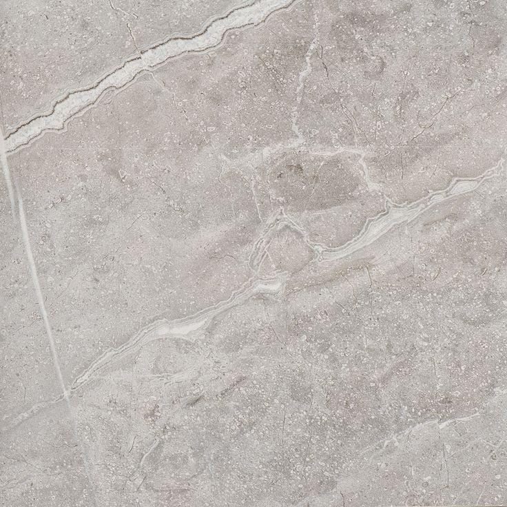 37203 M33 Grey Fleury Honed Inspirerad av den Toskanska marmorn Fiore di Bosco, med granitkeramikens alla praktiska fördelar och en yta som liknar en slipad marmor.