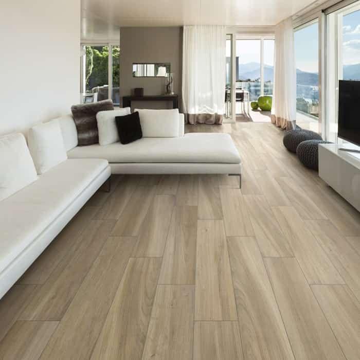 Sav Wood Miele Wood Look Tile Floor Wood Tiles Design Living Room Tiles #tiles #design #living #room