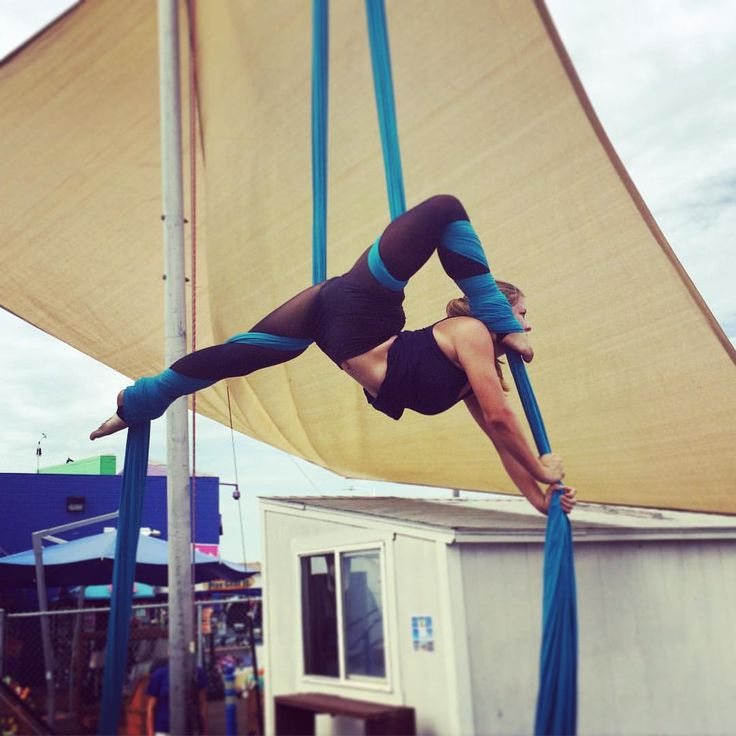 """Katrina Thordarson on Instagram: """"""""You look like the kids I babysit when they play telephone with their feet"""" ☎️ #circusartistcirque #aerialist #tsnyla"""""""