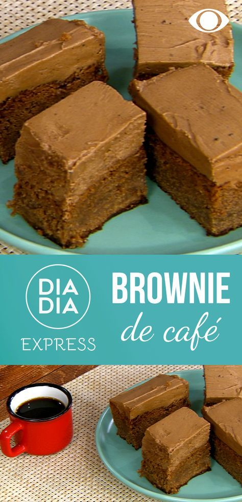 Brownies de café