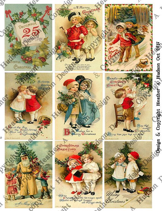 Vintage Christmas Children 4 page Digital Collage Sheet set $5  You can find it in my etsy shop here:  https://www.etsy.com/listing/555042828/vintage-christmas-children-un-altered-4?ref=shop_home_active_2