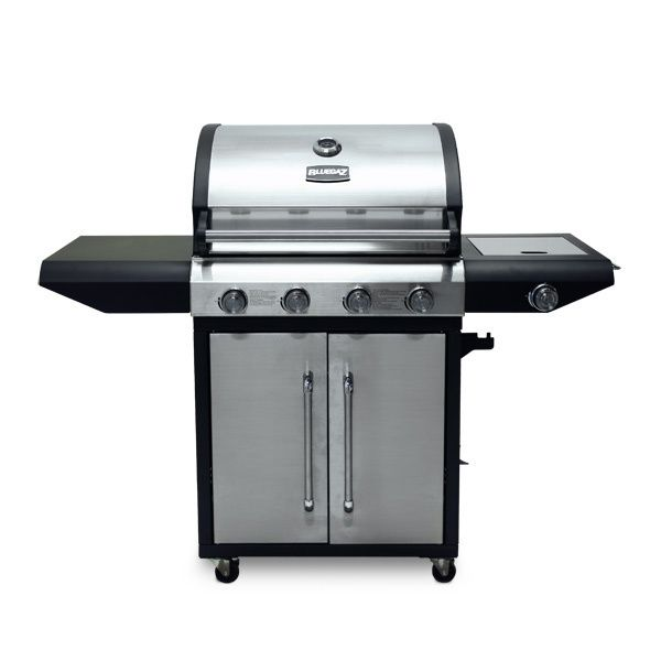 Gasolgrill ScandyGarden Bluegaz Tiger Steel