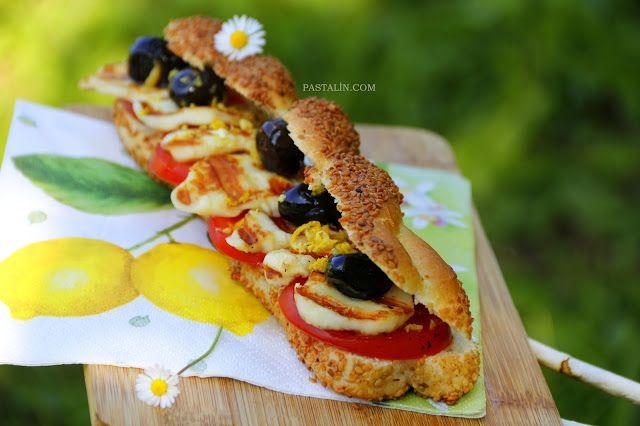 PASTALİN...: Limon Rendeli Simit Sandviç